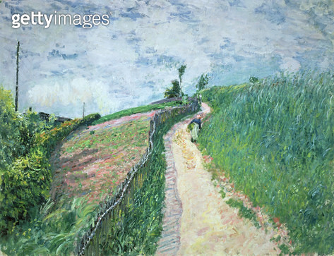 <b>Title</b> : Path Leading to Ville D'Avray, 1879<br><b>Medium</b> : <br><b>Location</b> : Private Collection<br> - gettyimageskorea