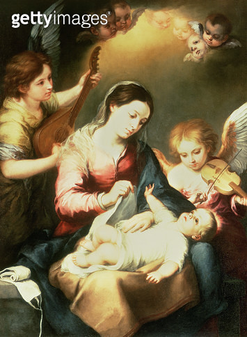 <b>Title</b> : Virgin of the Swaddling Clothes<br><b>Medium</b> : <br><b>Location</b> : Private Collection<br> - gettyimageskorea