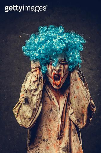 Angry Halloween Clown - gettyimageskorea