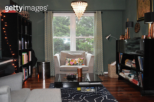 Home interior - reading room - gettyimageskorea