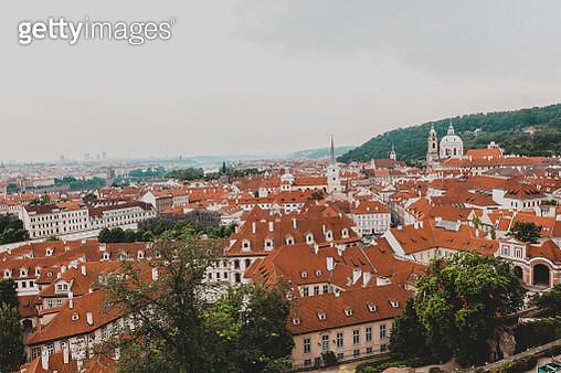Panoramic aerial view of Prague. Czech Republic - gettyimageskorea