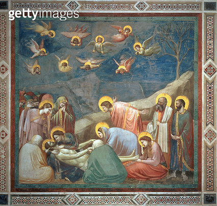 The Lamentation of Christ/ c.1305 (fresco) - gettyimageskorea