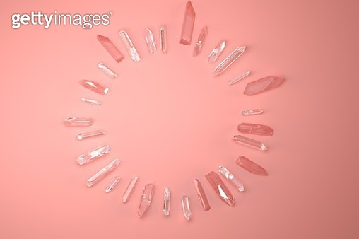Crystals on distance - gettyimageskorea