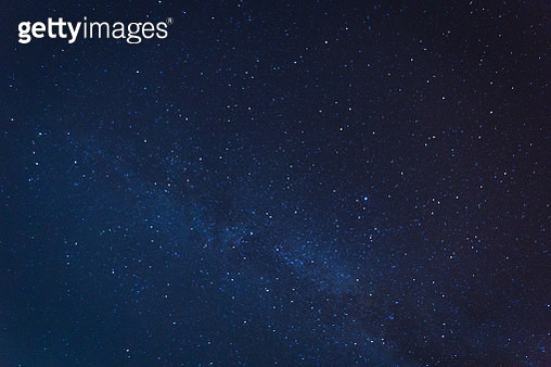 Milky way galaxy with stars and space dust in the universe - gettyimageskorea