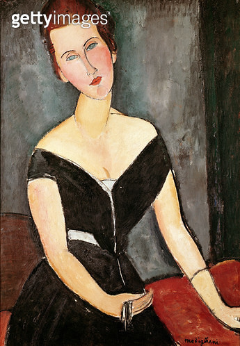 <b>Title</b> : Madame G. van Muyden, 1917 (oil on canvas)<br><b>Medium</b> : oil on canvas<br><b>Location</b> : Museu de Arte, Sao Paulo, Brazil<br> - gettyimageskorea