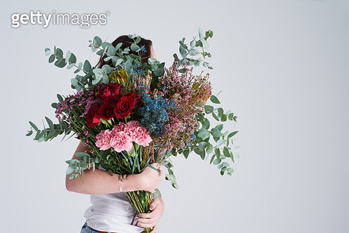 There is nothing more beautiful than a bouquet - gettyimageskorea