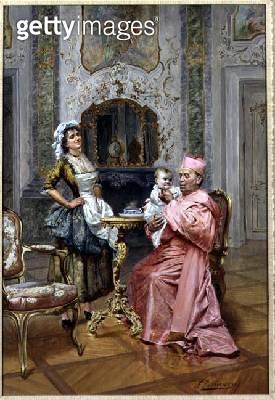 <b>Title</b> : The Cardinal's Favourite<br><b>Medium</b> : <br><b>Location</b> : <br> - gettyimageskorea