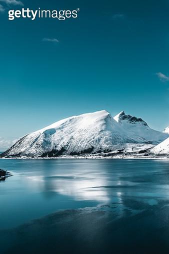 Blue hour on Senja Island - gettyimageskorea