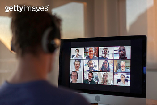 Video call from home during lockdown - gettyimageskorea
