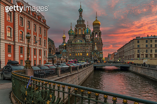The Church of the Savior on Spilled Blood - gettyimageskorea