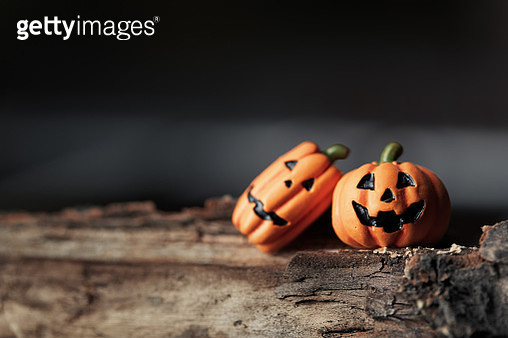 Halloween pumpkins close-up - gettyimageskorea