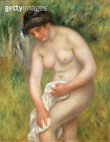 <b>Title</b> : Nude, Green Background, 1902 (oil on canvas)<br><b>Medium</b> : oil on canvas<br><b>Location</b> : The Barnes Foundation, Merion, Pennsylvania, USA<br> - gettyimageskorea