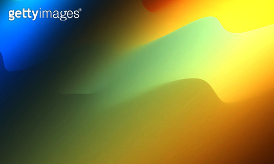 Bright colorful computer-generated waves background - gettyimageskorea