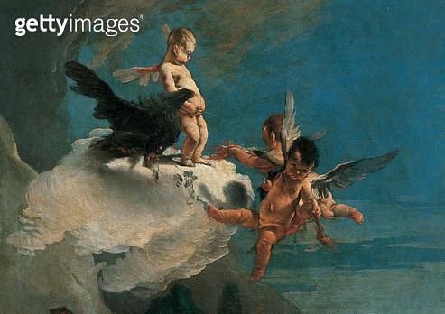 The Rape of Europa/ 1720 - 1721 (oil on canvas) - gettyimageskorea