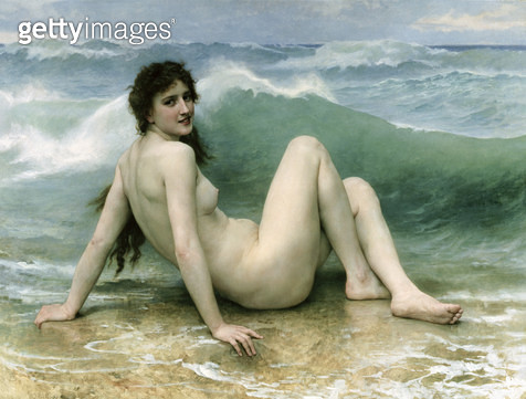 <b>Title</b> : La Vague, 1896 (oil on canvas)Additional InfoThe Wave;<br><b>Medium</b> : oil on canvas<br><b>Location</b> : Private Collection<br> - gettyimageskorea