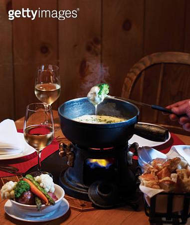 Swiss Cheese Fondue - gettyimageskorea