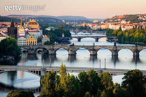 Prague Bridges - gettyimageskorea