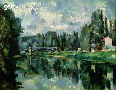 <b>Title</b> : The Banks of the Marne at Creteil, c.1888 (oil on canvas)<br><b>Medium</b> : oil on canvas<br><b>Location</b> : Pushkin Museum, Moscow, Russia<br> - gettyimageskorea