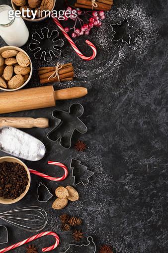 Christmas Baking Background - gettyimageskorea