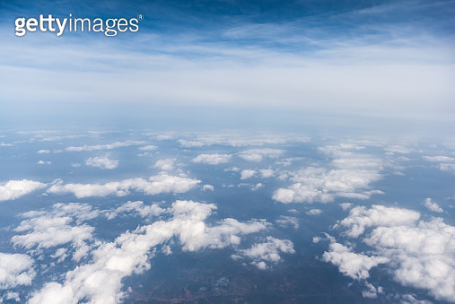 Aerial View Of Clouds - gettyimageskorea