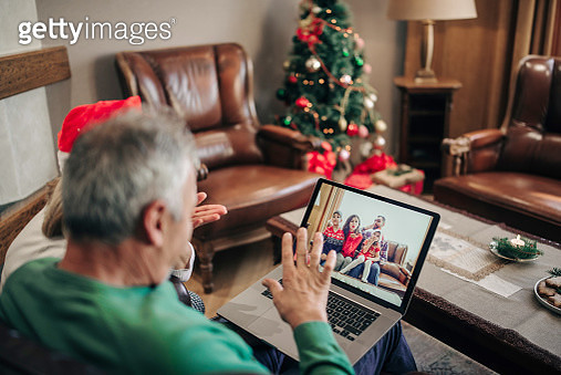video chat for christmas - gettyimageskorea