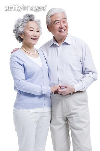 Happy senior couple - gettyimageskorea
