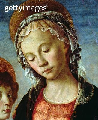 Madonna and Child (detail of 44356) - gettyimageskorea