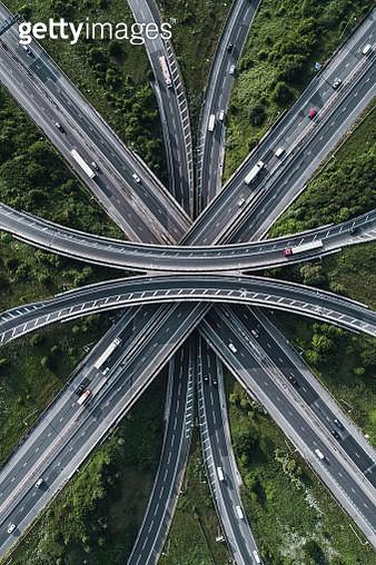 Motorway intersection, Bristol, United Kingdom - gettyimageskorea