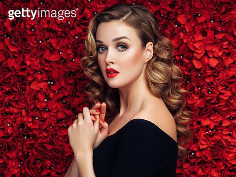 Portrait of a nice looking woman - gettyimageskorea