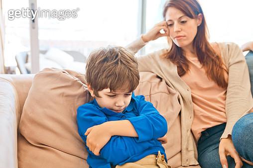 Conflict between mother and son - gettyimageskorea