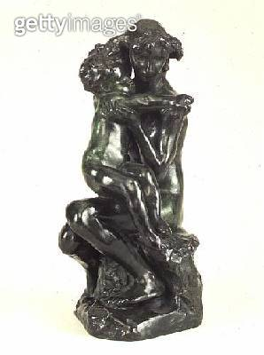 Brother and Sister/ bronze sculpture by Auguste Rodin (1840-1917) - gettyimageskorea