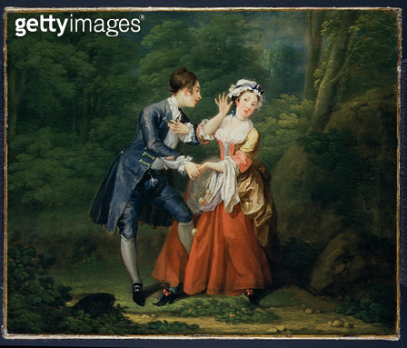 <b>Title</b> : Before, c.1730-31 (oil on canvas) (one of a pair, see 58828)<br><b>Medium</b> : oil on canvas<br><b>Location</b> : Fitzwilliam Museum, University of Cambridge, UK<br> - gettyimageskorea