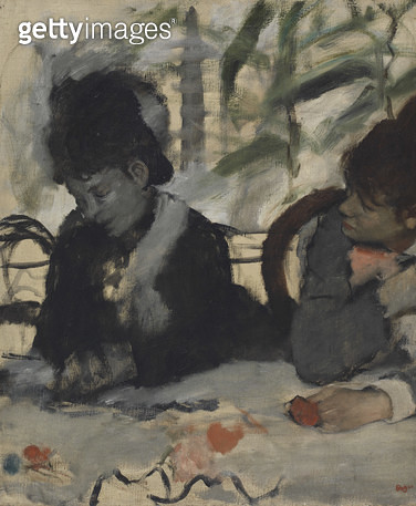 <b>Title</b> : At the Cafe, c.1875-7 (oil on canvas)<br><b>Medium</b> : oil on canvas<br><b>Location</b> : Fitzwilliam Museum, University of Cambridge, UK<br> - gettyimageskorea