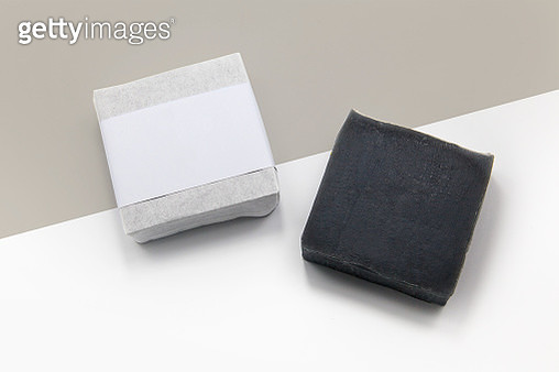 High Angle View Of Soaps On Table - gettyimageskorea