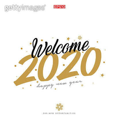 Happy New Year. Merry Christmas. White background. Santa Claus. Typography. Merry Christmas. Vector sunburst, emblems, text design. Usable for banners, greeting cards, gifts etc - gettyimageskorea