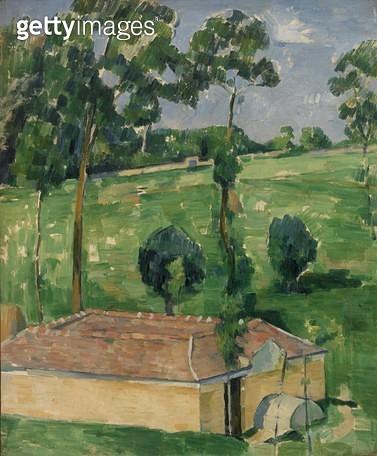 <b>Title</b> : Spring House (oil on canvas)<br><b>Medium</b> : oil on canvas<br><b>Location</b> : The Barnes Foundation, Merion, Pennsylvania, USA<br> - gettyimageskorea