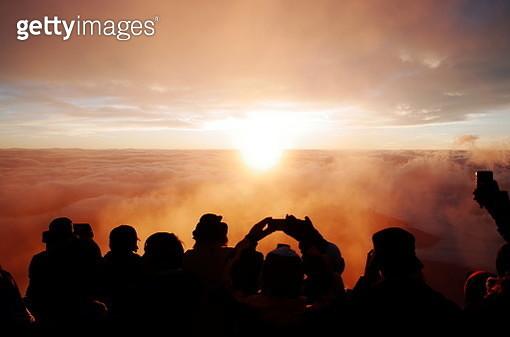 Mt. Fuji sunrise - gettyimageskorea