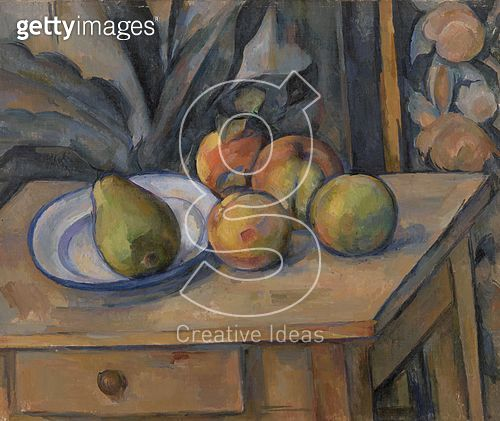 <b>Title</b> : Fruit and Tapestry (oil on canvas)<br><b>Medium</b> : oil on canvas<br><b>Location</b> : The Barnes Foundation, Merion, Pennsylvania, USA<br> - gettyimageskorea