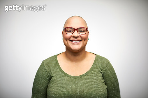 Smiling mid adult woman wearing eyeglasses - gettyimageskorea