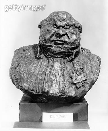 <b>Title</b> : Bust of Hippolyte Abraham, known as Abraham-Dubois (1794-1863) 1833 (bronze) (b/w photo)<br><b>Medium</b> : bronze<br><b>Location</b> : Musee des Beaux-Arts, Marseille, France<br> - gettyimageskorea