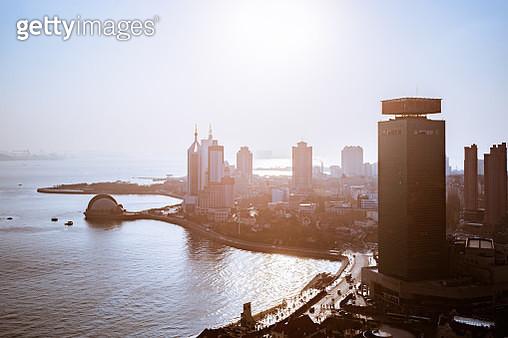 Cityscape, Qingdao, Shandong Province, China - gettyimageskorea