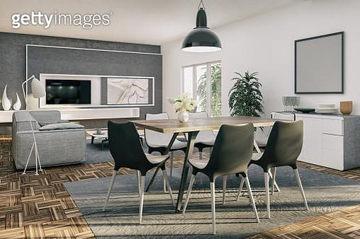 Apartment interior design - gettyimageskorea