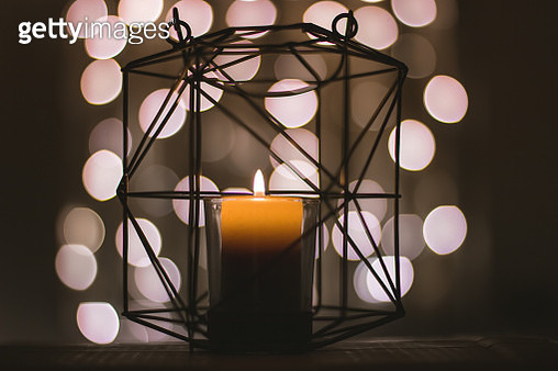 The bokeh candle - gettyimageskorea