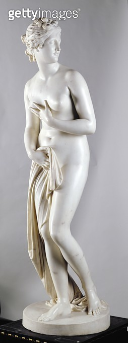 <b>Title</b> : Venus, c.1818-20 (marble) (see also 259675-6 and 259678)<br><b>Medium</b> : marble<br><b>Location</b> : Leeds Museums and Galleries (City Art Gallery) U.K.<br> - gettyimageskorea