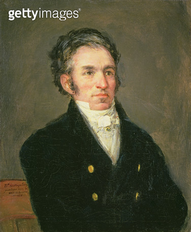 <b>Title</b> : Dr. Galos, c.1826 (oil on canvas)<br><b>Medium</b> : oil on canvas<br><b>Location</b> : The Barnes Foundation, Merion, Pennsylvania, USA<br> - gettyimageskorea