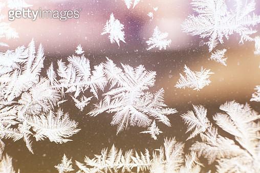 Frost on windows - gettyimageskorea