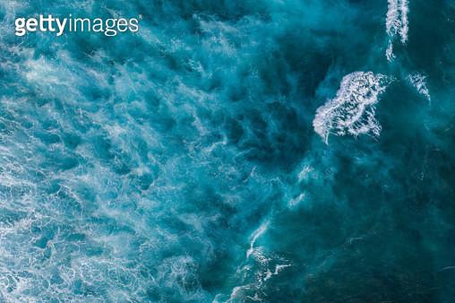 Ocean surf from above - gettyimageskorea