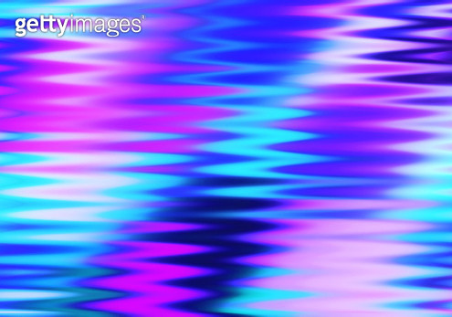 Cute Zigzag Blue and Violet - gettyimageskorea