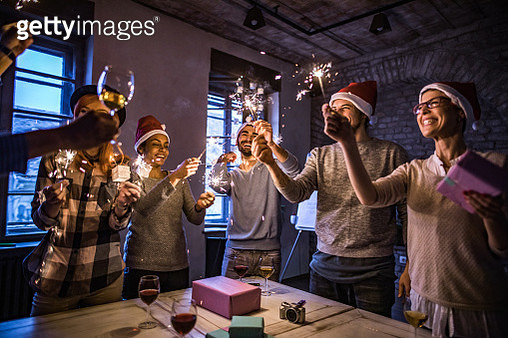 New Year's office party! - gettyimageskorea
