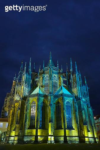Saint Vitus' Cathedral in Prague, Czech Republic - gettyimageskorea